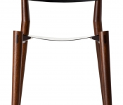 MM102 MILES & MAY MILES CHAIRS LEATHER FRONT
