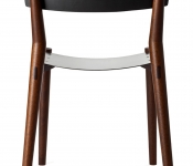 MM102 MILES & MAY CHAIRS LEATHER BACK