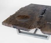 JRF102 FERN MAPLE SLAB LOW TABLE