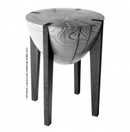 The Artful Mind, October 2012: Featuring Custom RD Stool by Miles & May Furniture Works