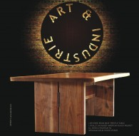 The Artful Mind, October 2012: Featuring Jessica Wickham for Wickham Solid Wood Studios