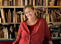 THE ARTFUL MIND, NOVEMBER 2012: JESSICA WICKHAM, FURNITURE WORKER